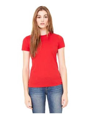 69699559 Product Image Bella + Canvas Ladies' Poly-Cotton Short-Sleeve T-Shirt 6650