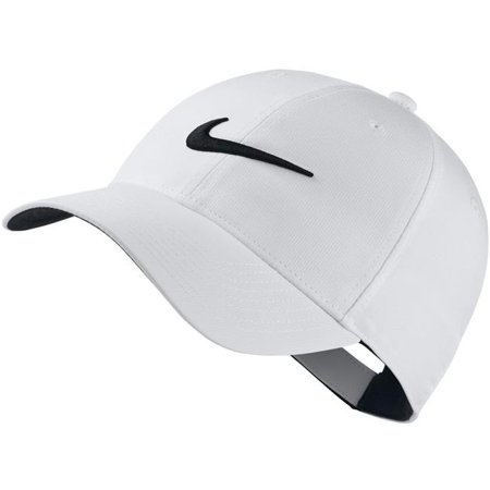 d45cdcdd0e139 Nike 72879 One Size L91 Tech Swoosh Cap  44  White