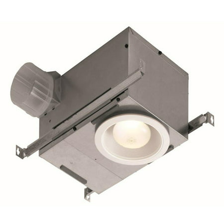 - Broan 744 70 CFM White Recessed Fan With Light