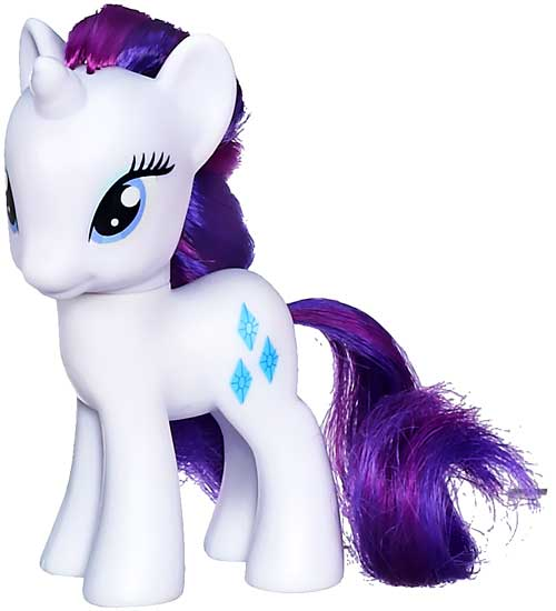 """My Little Pony 3 Inch Loose Rarity 3"""" Collectible Figure [Loose]"""