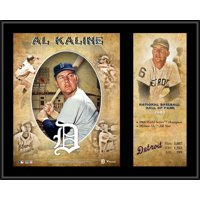 "Al Kaline Detroit Tigers 12"" x 15"" Hall of Fame Career Profile Sublimated Plaque"