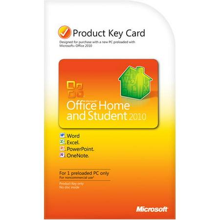 Microsoft Office Home and Student 2010 PKC Windows - Walmart.com