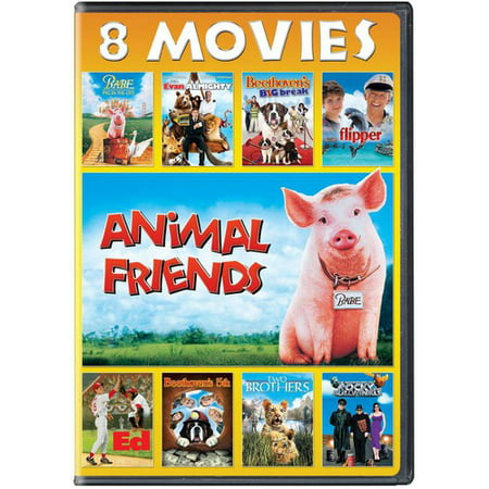 Animal Friends 8-Movie Collection (DVD) - Fairies Movies For Kids