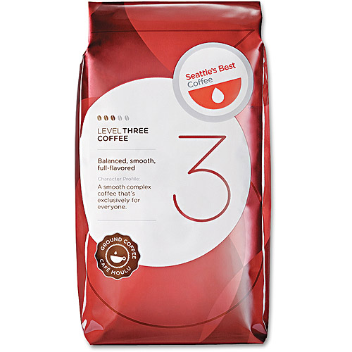 Seattle's Best Level 3 Ground Coffee Packs, 2 oz, 18 count