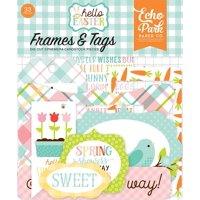 Hello Easter Frames & Tags, Hello easter frames & tags By Echo Park PaperWalmartpany