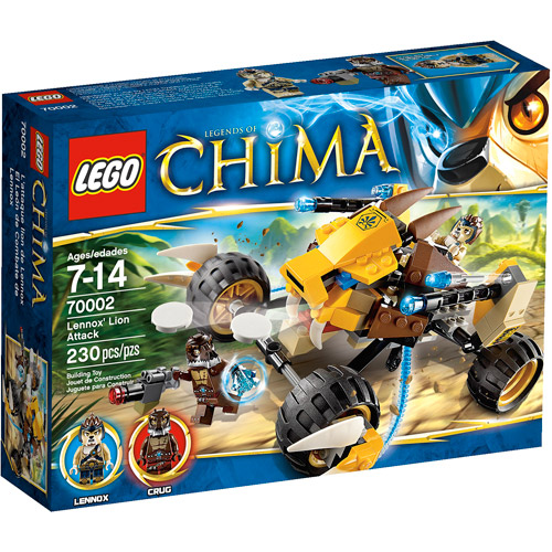 LEGO Chima Lennox Lion Attack Play Set