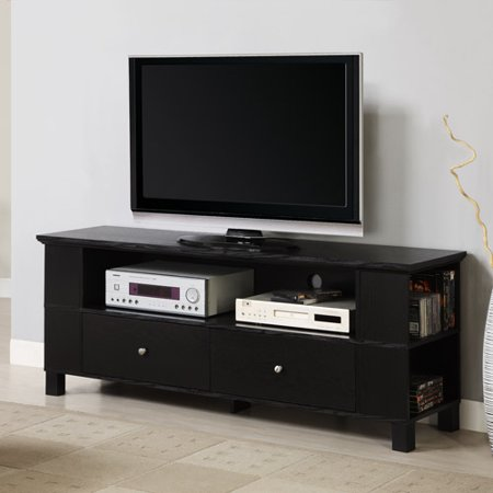 Walker Edison Black Tv Stand For Tvs Up To 60