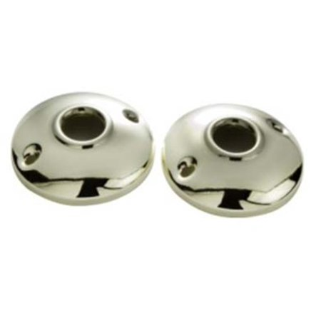 """First Watch 1136 2-1/2"""" Diameter Steel Rosettes for Passage Knobsets"""