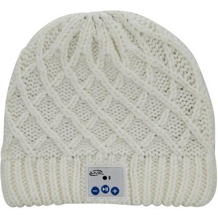 iLive IAKB45CW Bluetooth Wireless Knit Stocking Beanie with Microphone