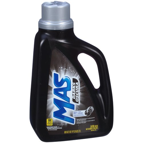 Mas Darks Liquid Laundry Detergent, 60 fl oz