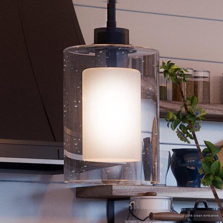 Urban Ambiance Luxury Modern Pendant, Size: 10