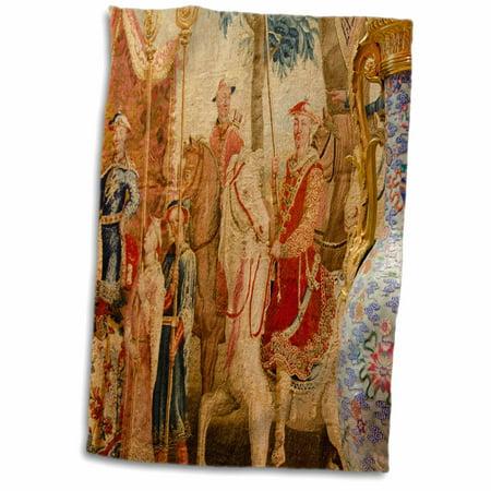 3dRose China, Macau. Wynn Hotel and Casino. Chinoiserie Tapestry. - Towel, 15 by - Wynn Casino
