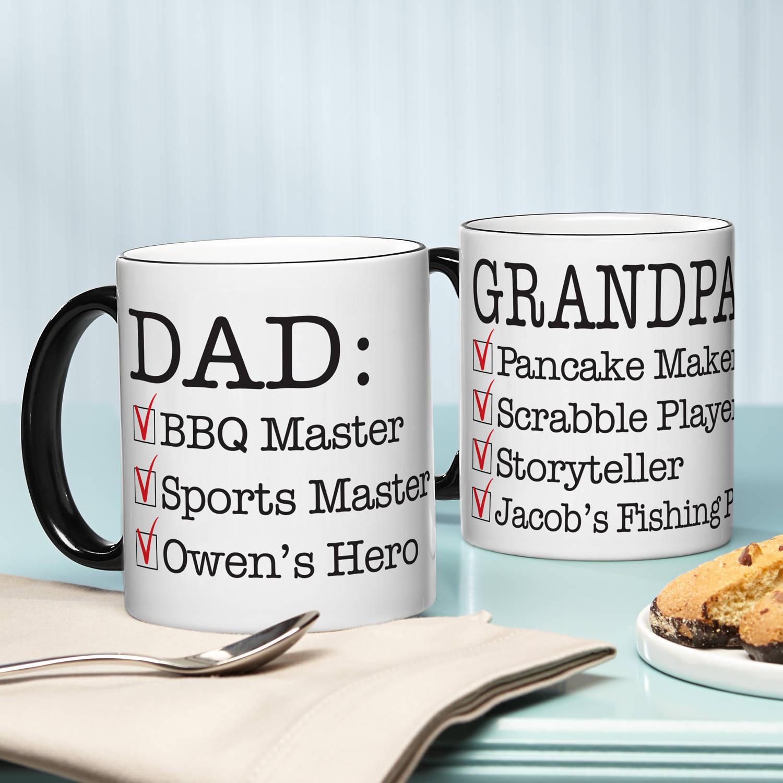 Personalized Define Him Coffee Mug, 11 oz