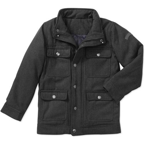Boys' Faux Wool Jacket
