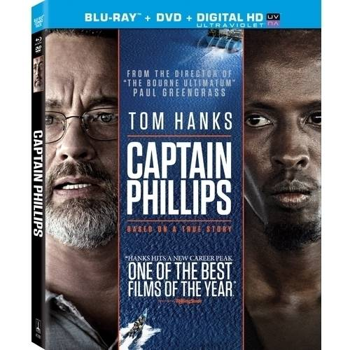Captain Phillips (Blu-ray   DVD   Digital HD) (With INSTAWATCH) (Anamorphic Widescreen)