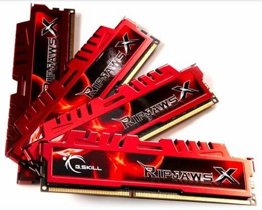 G.Skill Ripjaws X F3-12800CL9Q-16GBXL 16GB (4x4GB) DDR3-1600 Desktop Memory RAM