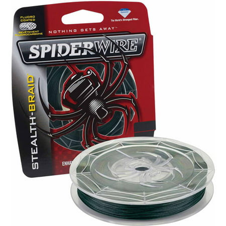 SpiderWire Stealth Braid Fishing (Best Spiderwire Monofilament Lines)