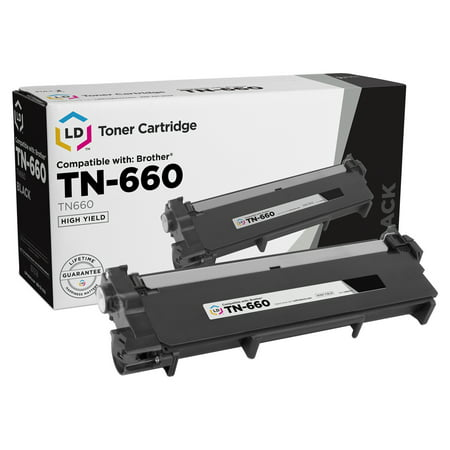 LD Compatible Replacement for Brother TN660 High Yield Black Toner Cartridge for DCP-L2520DW, DCP-L2540DW, HL-L2300D, HL-L2305W, HL-L2315DW, MFC-L2685DW, MFC-L2700DW, MFC-L2720DW,