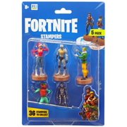 Fortnite Series 1 NOG Ops, Venturion, Codename E.L.F., Tomato Head & Skull Ranger Stamper 5-Pack