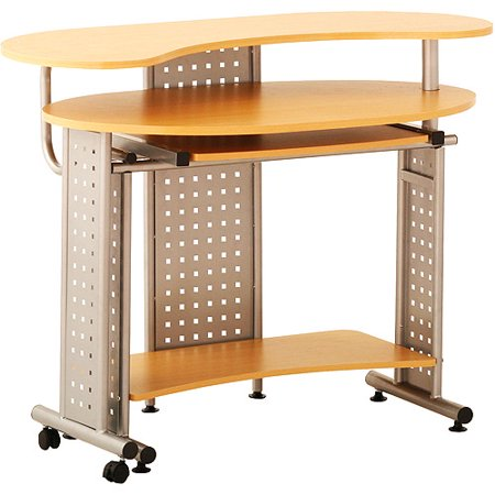 Status Furniture Status Space Saver Computer Desk In Oak