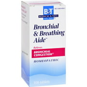 Boericke and Tafel Bronchitis and Asthma Aide - 100 Tablets Homeopathic Cough and Cold