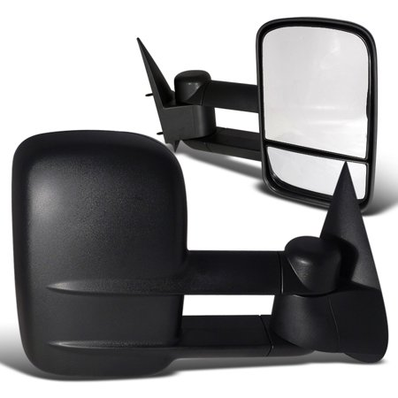 1999-2006 Silverado Manual Towing Telescoping Mirrors Kit 99 00 01 02 03 04 05 06
