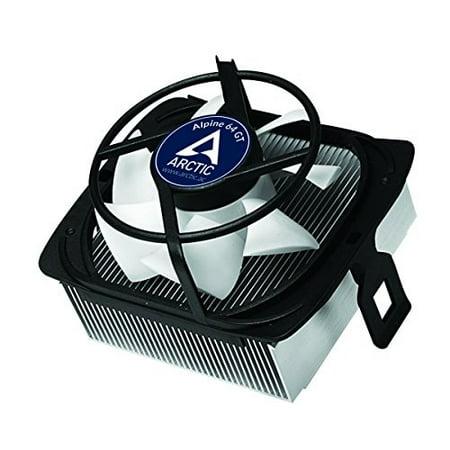 ARCTIC Alpine 64 GT - Supports AMD AM4 | CPU Cooler for Quietness I Ultra-Quiet 80mm PWM (Arctic Alpine 64 Pro Rev 2 Cpu Cooler)