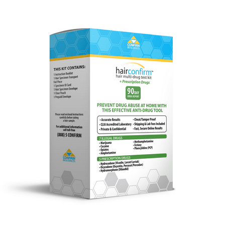 HairConfirm Hair Multi-Drug Test Kit