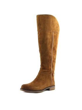 ed5dd7e68de Product Image Franco Sarto Christine Wide Calf Women Round Toe Suede Tan  Knee High Boot