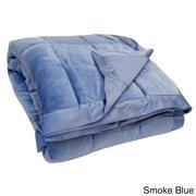 LCM Home Fashions, Inc. All-season Oversized Microplush Reversible Down Alternative Blanket