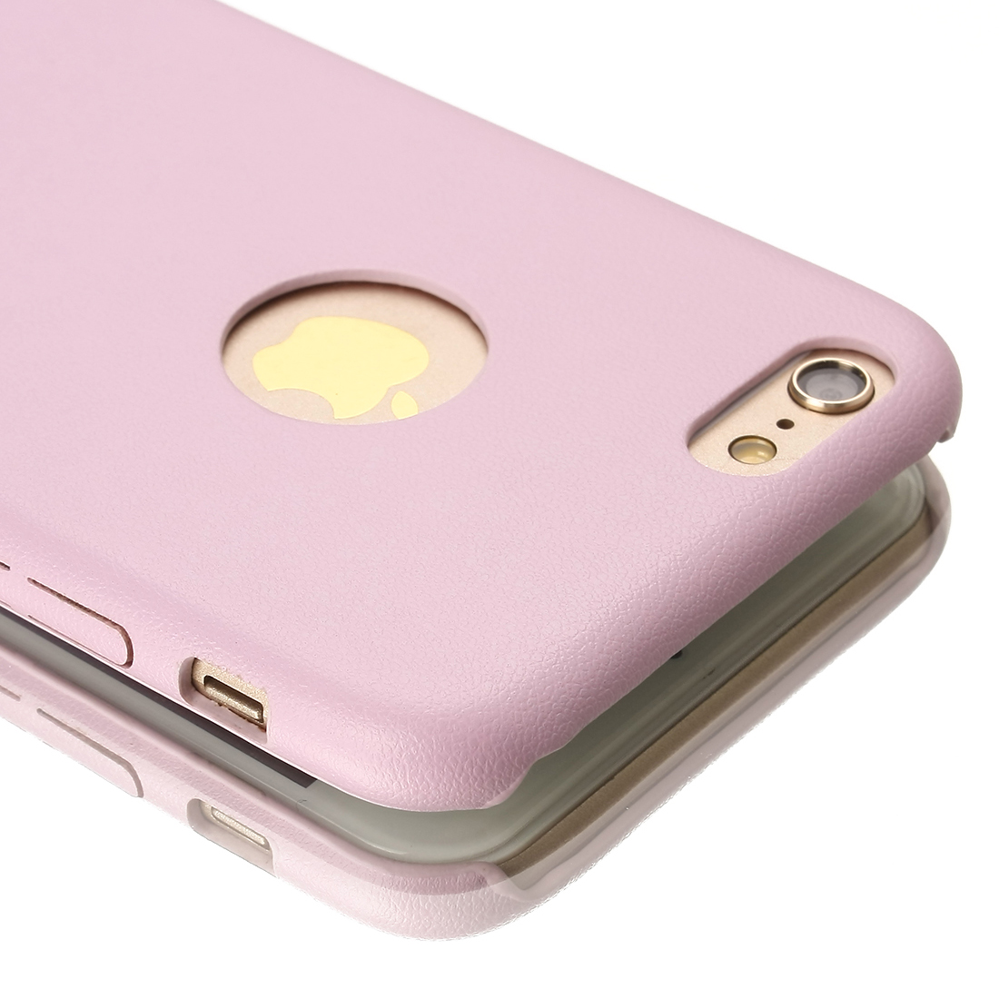 "New Luxury PU Leather Ultra-thin Case Cover For Apple iPhone 6 4.7"" Pink"