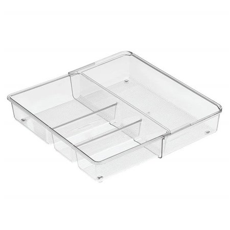Interdesign 67930 12 X 7 2 3 In Linus Expandable Drawer Organizer