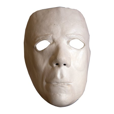 Trick Or Treat Studios Halloween II Deluxe Mask - Adult Sized Halloween Costume Mask (Halloween Trick Or Treat New York)