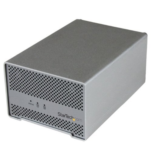 StarTech Thunderbolt Hard Drive Enclosure with Thunderbolt Cable