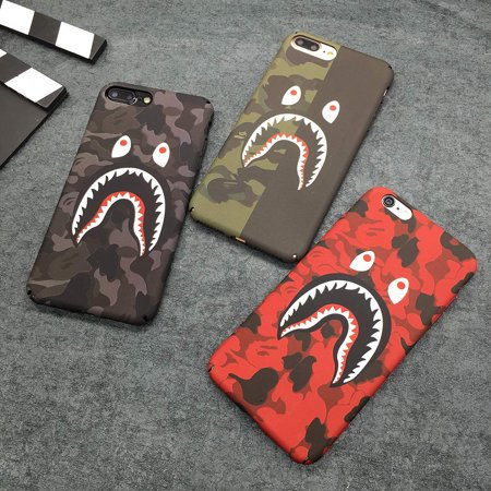 new product 5dfb5 7bcc3 Shark Teeth Hardshell Case for iPhone 6/6 Plus/iPhone 7/iPhone 8 ...