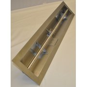 """36"""" Liquid Propane Linear Trough Pan with T-Burner, Match Lit Ignition"""