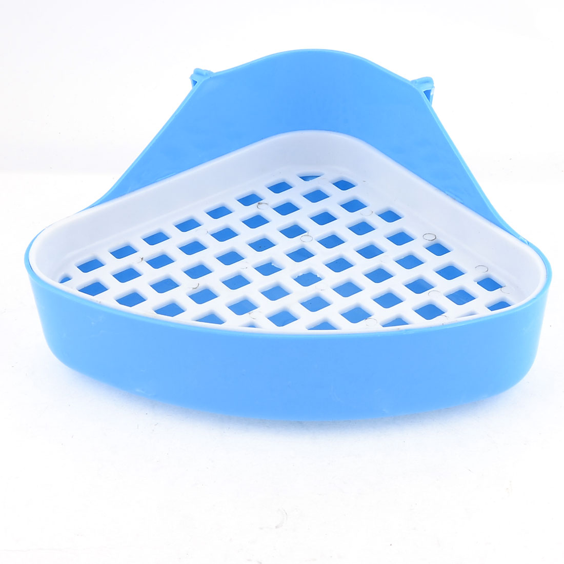 Indoor Triangle Cat Dog Pet Toilet Blue White