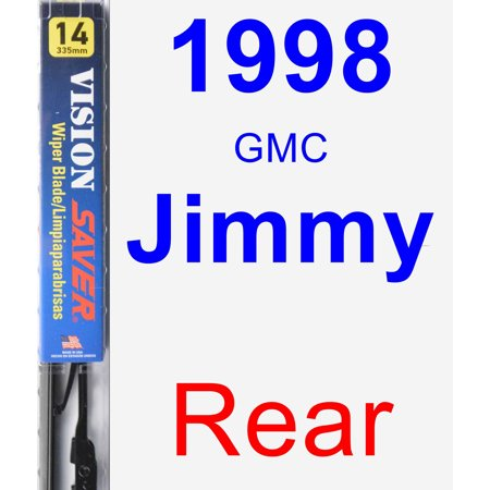 1998 GMC Jimmy Rear Wiper Blade - Vision Saver