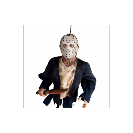 Jason Voorhees Hanging Friday The 13Th Halloween Prop Decoration Decor 12