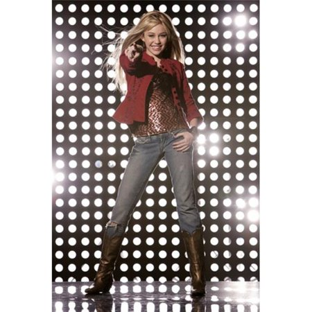 Hannah Montana Photos - Pop Culture Graphics MOV412131 Hannah Montana - Style E Movie Poster, 11 x 17