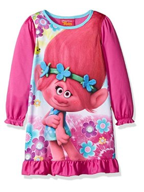 Product Image Trolls Big Girls  Long Sleeve Nightgown b8852cde3