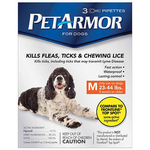 PetArmor Flea & Tick Protection for Dogs 23-44 lbs, 3-month Supply