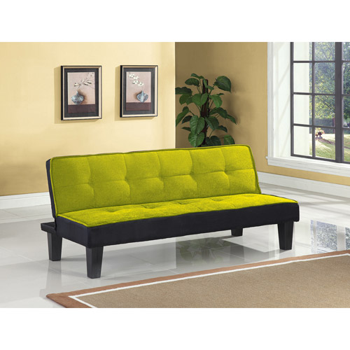 color block futon adjustable sofa multiple colors - Beds For Small Spaces