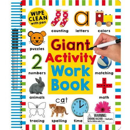 Wipe Clean: Giant Activity Workbook Wipe Activity Tote
