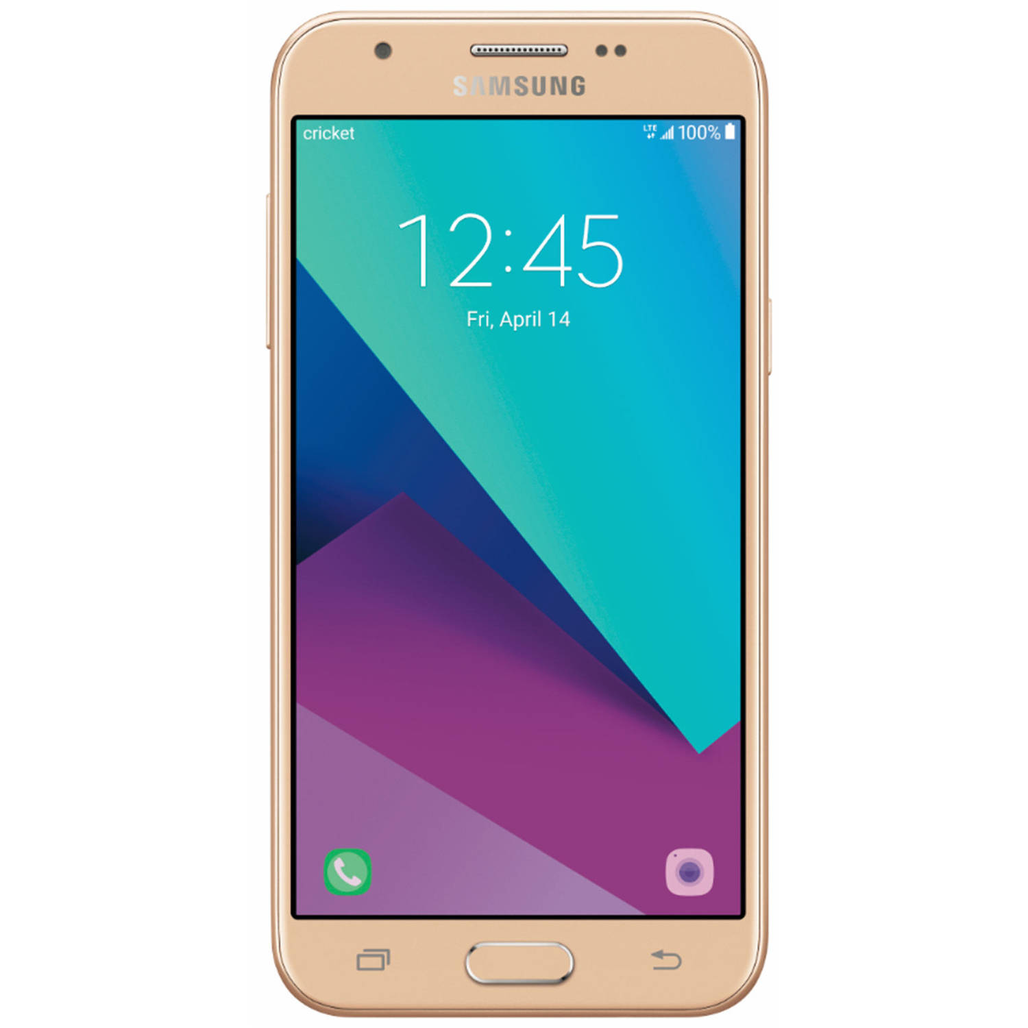 Cricket Wireless Samsung Galaxy Sol 2 16GB Prepaid Smartphone, Gold