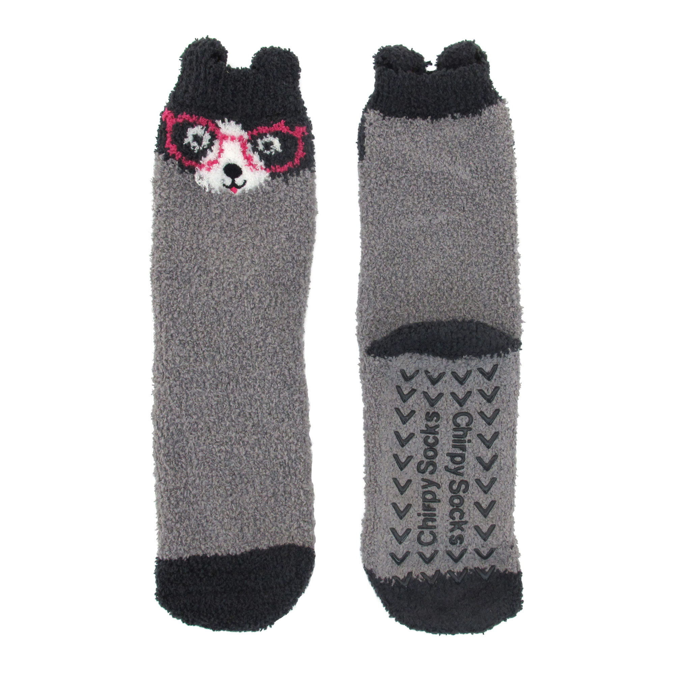 Bamboomn Socks Super Soft Warm Cute Animal Non-Slip Fuzzy Crew Winter Socks