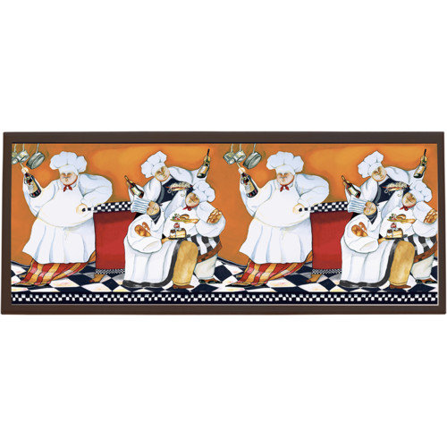 Illumalite Designs Chefs A Cookin Painting Print on Plaque