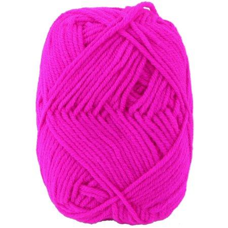 Fuchsia Crochet - Fiber Handmade Crochet Scarf Socks Gloves Sweater Knitting Yarn Cord Fuchsia 25g