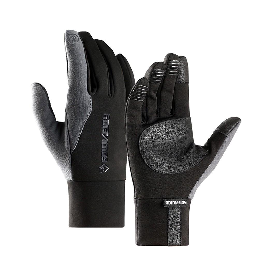 Men Women Warm Windproof Winter Waterproof Ski Thermal Touch Screen Glove Mitten