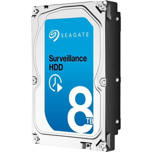 "Seagate Surveillance 8 TB 3.5"" Internal Hard Drive SATA 7200 256 MB Buffer Retail ST8000VX0012 by Seagate"